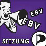EBV-Sitzung am Donnerstag, 2. November, 21 Uhr