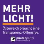 Das Land in dem die Transparenz verkümmert